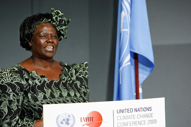 PIONEER OF THE POSSIBLE: Wangari Maathai Inducted as UN Messenger of Peace