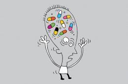 Man addicted to pills