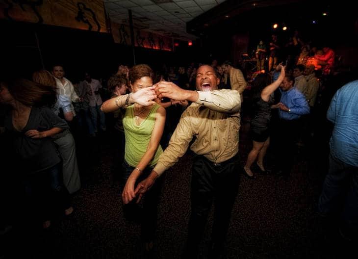 People dancing - Lost in dance