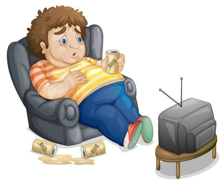 man-unhealthy-inside-tv-tired