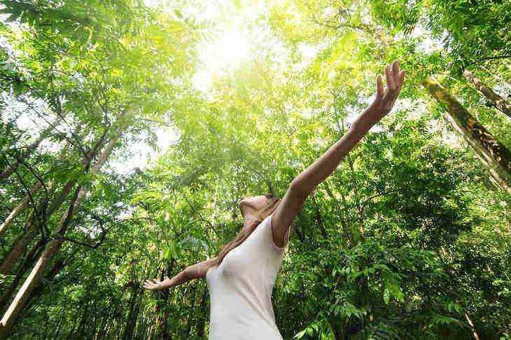 woman-nature-happy-environment