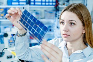 solar cells - flexible solar