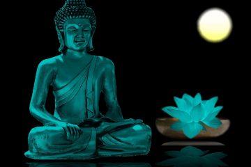 tibetan - blue buddha