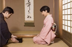 china-tea-ceremony Japanese woman serving tea