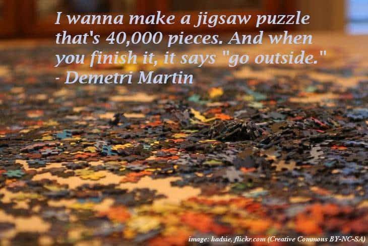 Puzzle - The funniest quotes ever