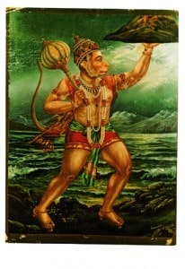 gods-in-print-HanumanCarriesTheMountain
