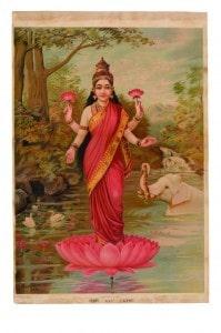 gods-in-print-Goddess Lakshmi