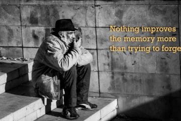 Cute life quotes - memory and forgetting