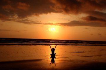 backlit balance - zen under fire