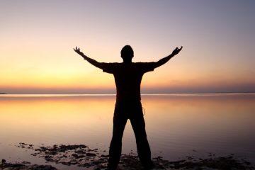 man sunset - the god i am