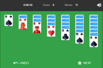 solitaire - play-again