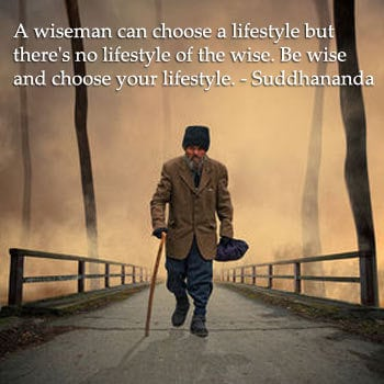 Wise man - quotation by Suddhananda