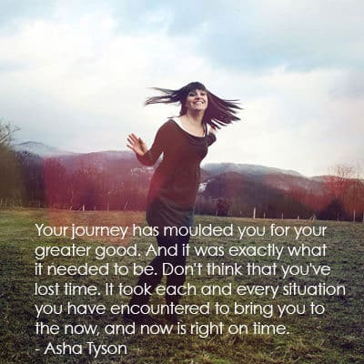 Woman - powerful quote about life journey