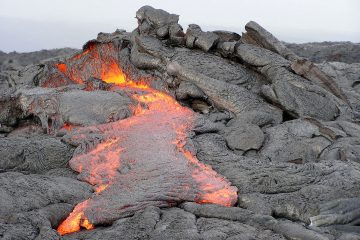 volcano lava - ground control