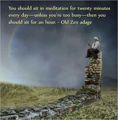 Old Zen adage