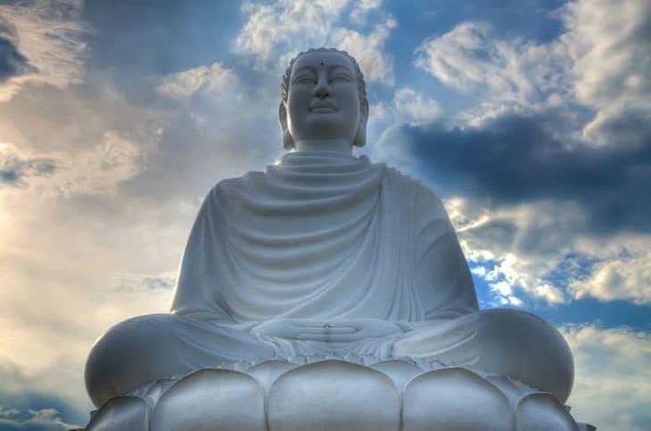 Buddha statue in Vietnam