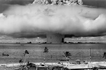 nuclear weapons test - hope for the environment