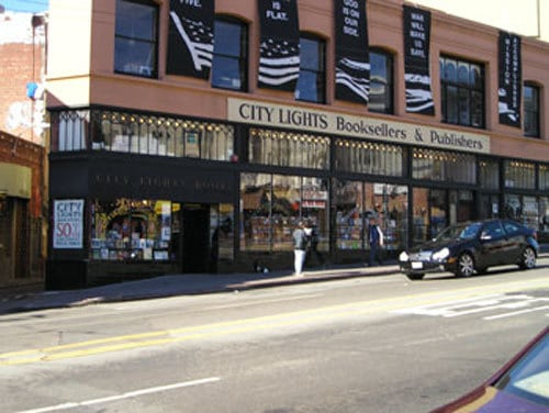 North Beach bookstore - Nobody knows you fiction
