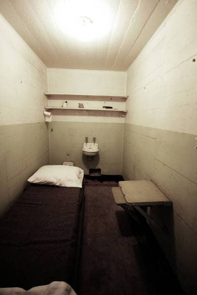 Solitary jail cell - Nobody Knows You fiction