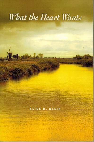 Front cover - Alice Klein book review