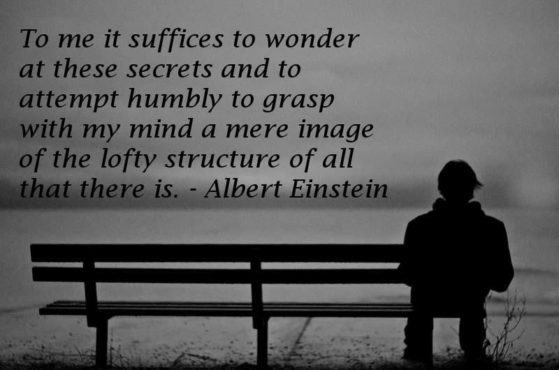 Deep thoughts quotes - Albert Einstein