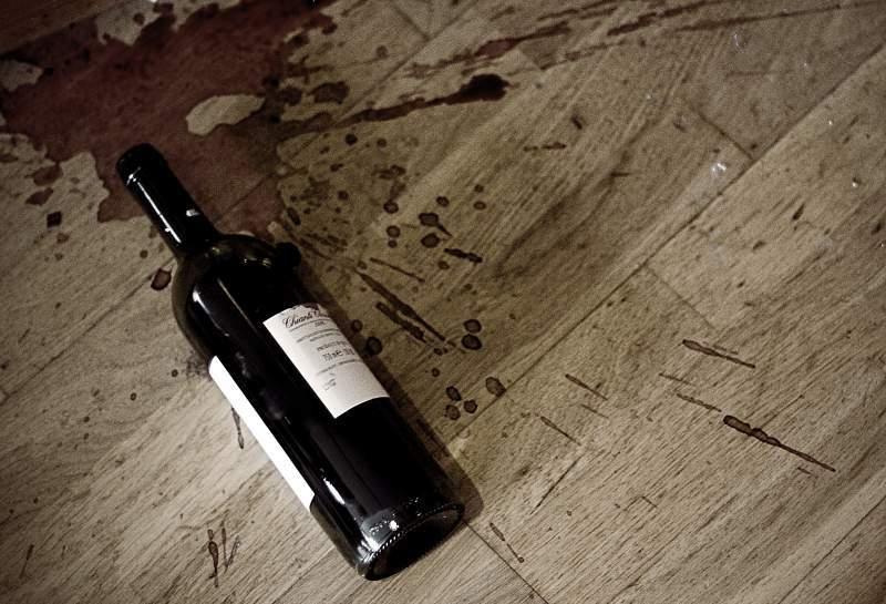 Wine bottle - evolvement of poetry