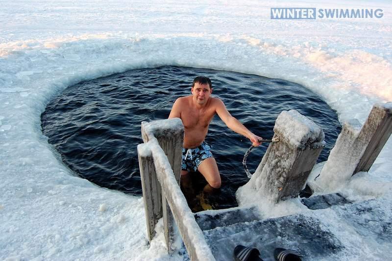 Winter swimmer - Surviving freezing temperatures