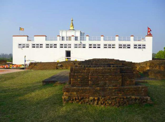 Lumbini, Nepal - Maya Devi Temple - Site of Buddha's birth