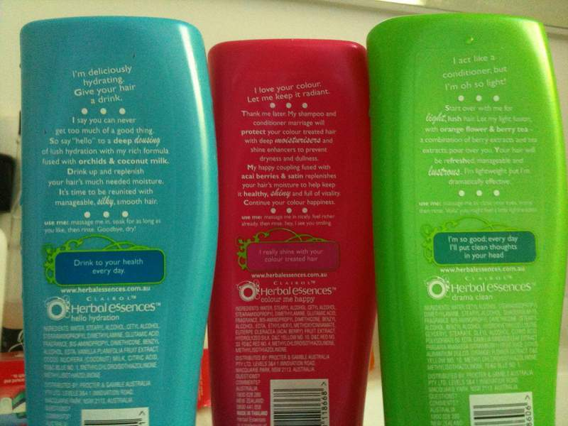 Shampoo bottles - Review of The Story of Cosmetics film