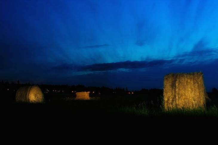 Hay bales - Fiction excerpt from Kent Nerburn
