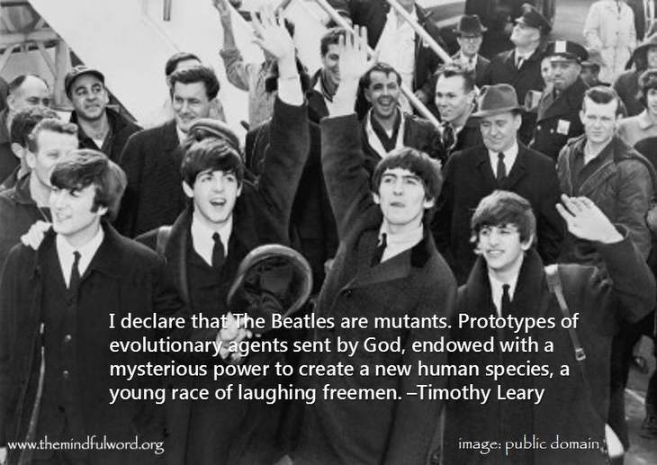 The Beatles - Funny quotes about freedom