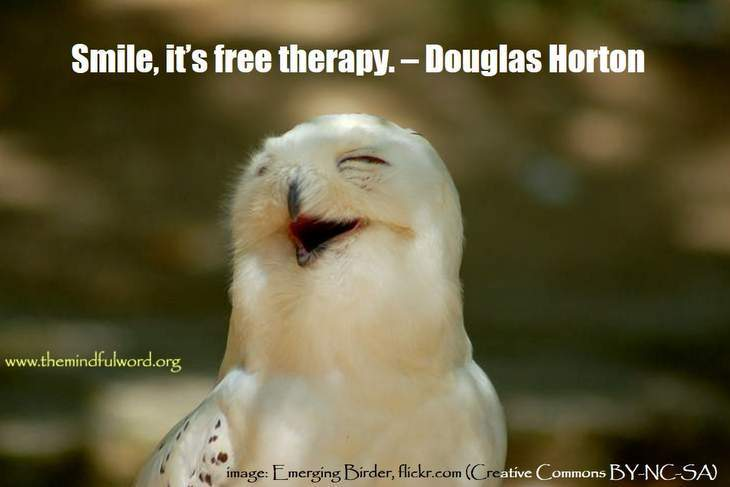 Smiling bird - Funny quotes about freedom