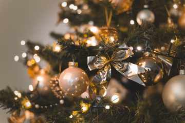 christmas tree - peace love joy