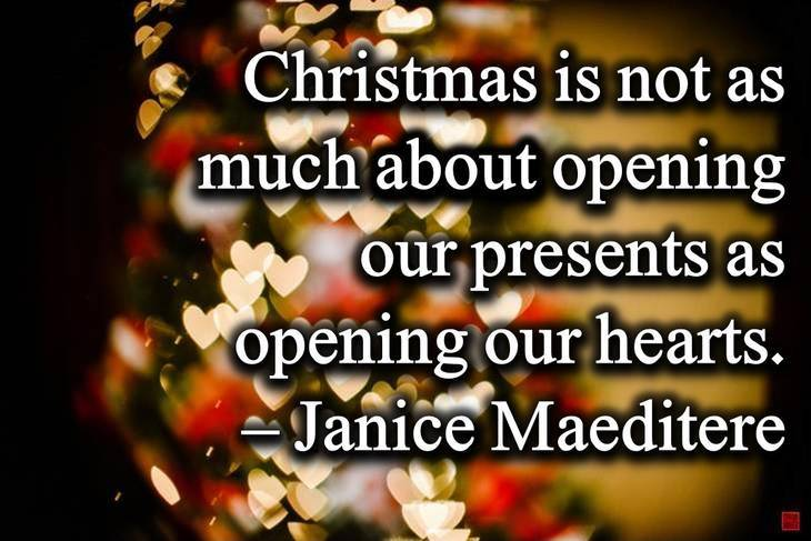 hearts short christmas quotes