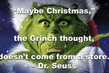 Grinch - Short Christmas quotes