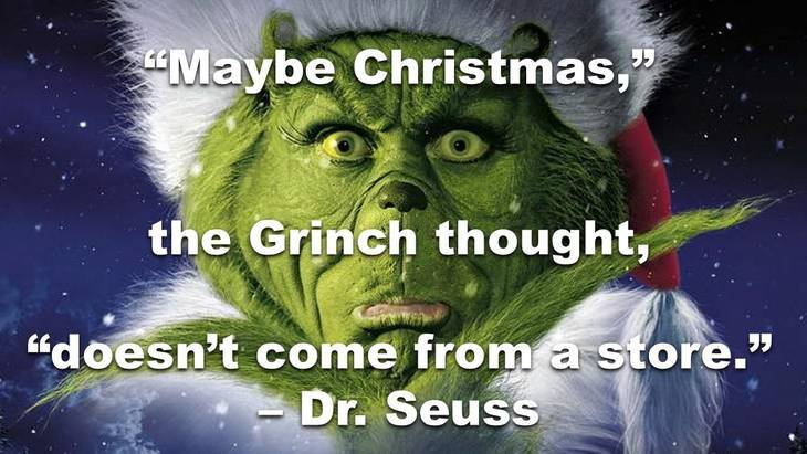 grinch short christmas quotes