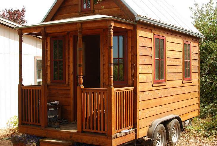 Tiny house - Video review tiny house