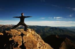 Warrior pose - yoga asana