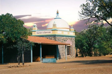 Meher Baba's tomb-shrine