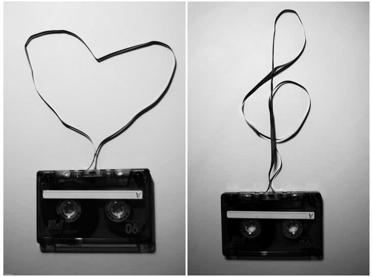 cassette tapes - music