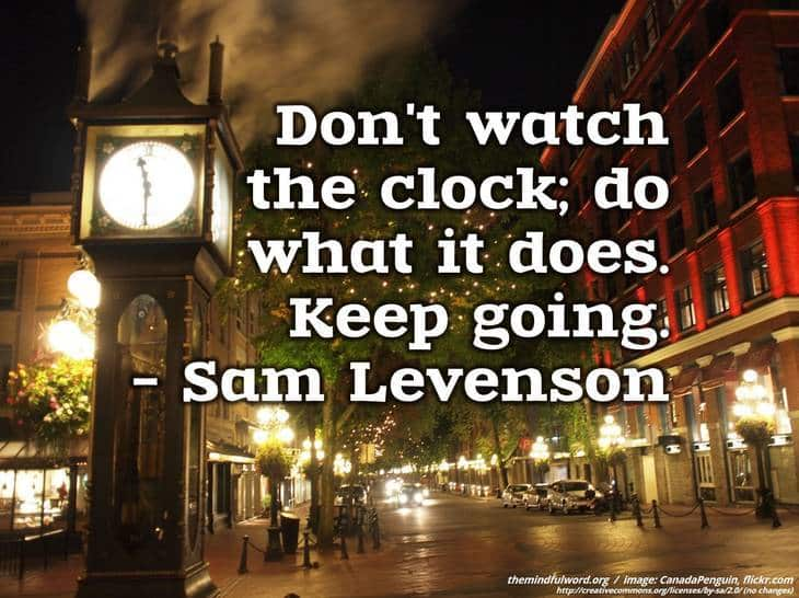 Steam clock - Free motivational quotes