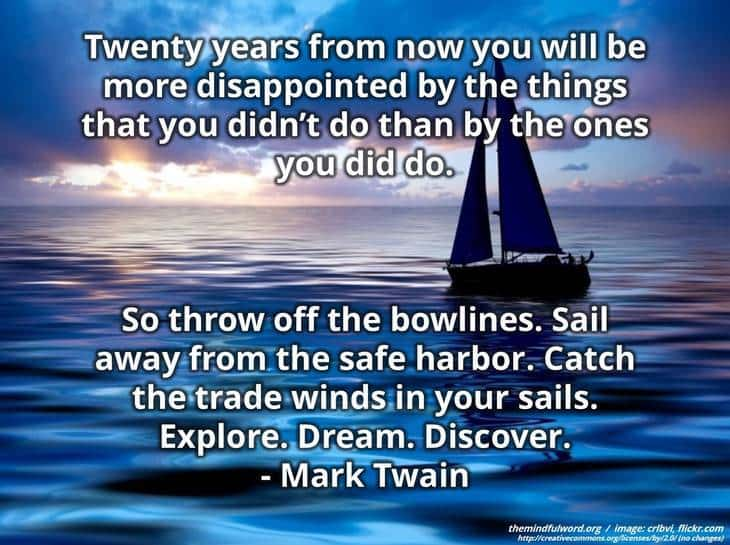 Sailboat - Free motivational quotes