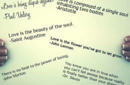 Quotes on paper - The power of quotation