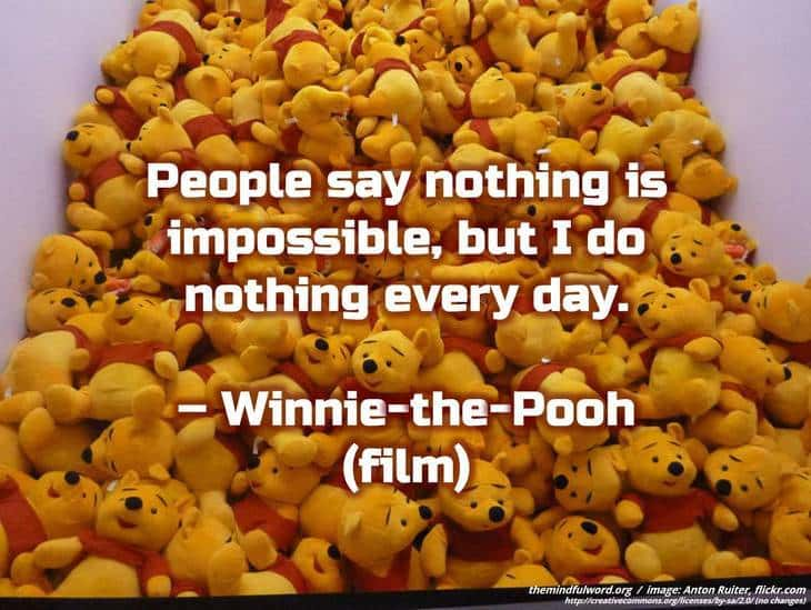 Winnie-the-Pooh - Witty quotes