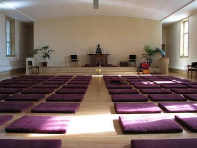 Meditation hall - Lessons from Zen garden