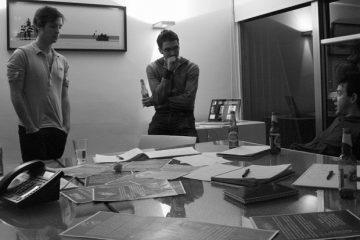 Executives in boardroom