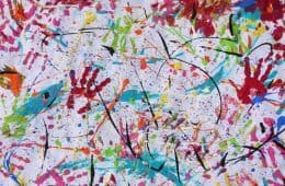 Therapeutic abstract art - Catina Noble poetry