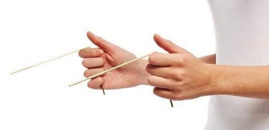 Dowsing with rods - Fruits of the earth