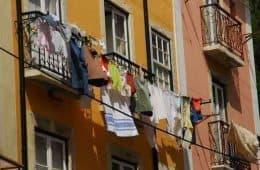 clothesline outside window - 5 ways to build community