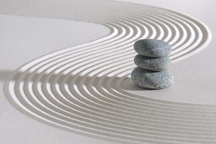 meditation - Japanese Zen garden